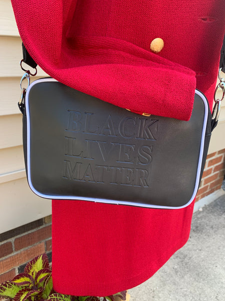 Black Lives Matter Crossbody Purse