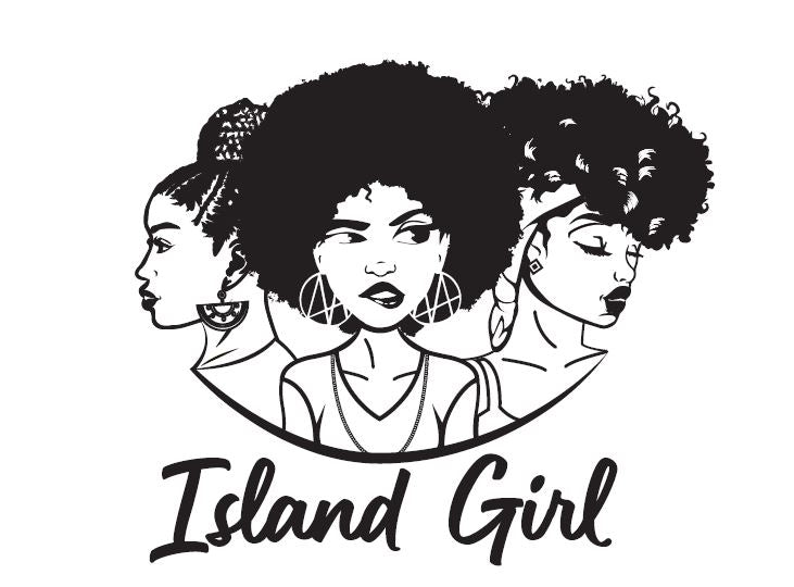 Black&White Island Girl