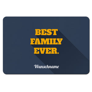 Fußmatte mit Namen - Best Family - Partycards_de