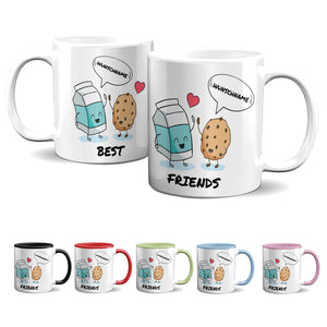 Tasse -Best Friends - Milch & Keks - Partycards_de