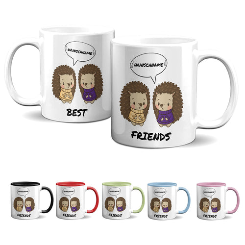 Tasse -Best Friends - Igel - Partycards_de