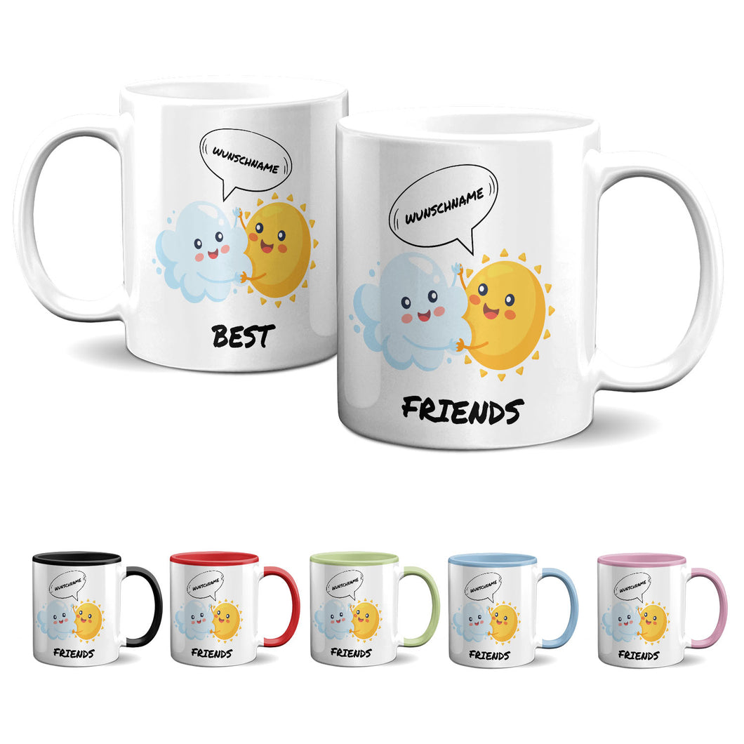 Tasse -Best Friends - Eis am Stiel - Partycards_de
