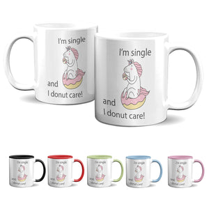 Tasse -Single - Single- I donut care - Partycards_de