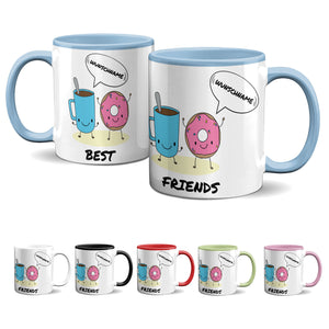 Tasse -Best Friends - Donut & Kaffee - Partycards_de