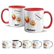 Laden Sie das Bild in den Galerie-Viewer, Tasse -Best Friends - Pommes & Hamburger - Partycards_de
