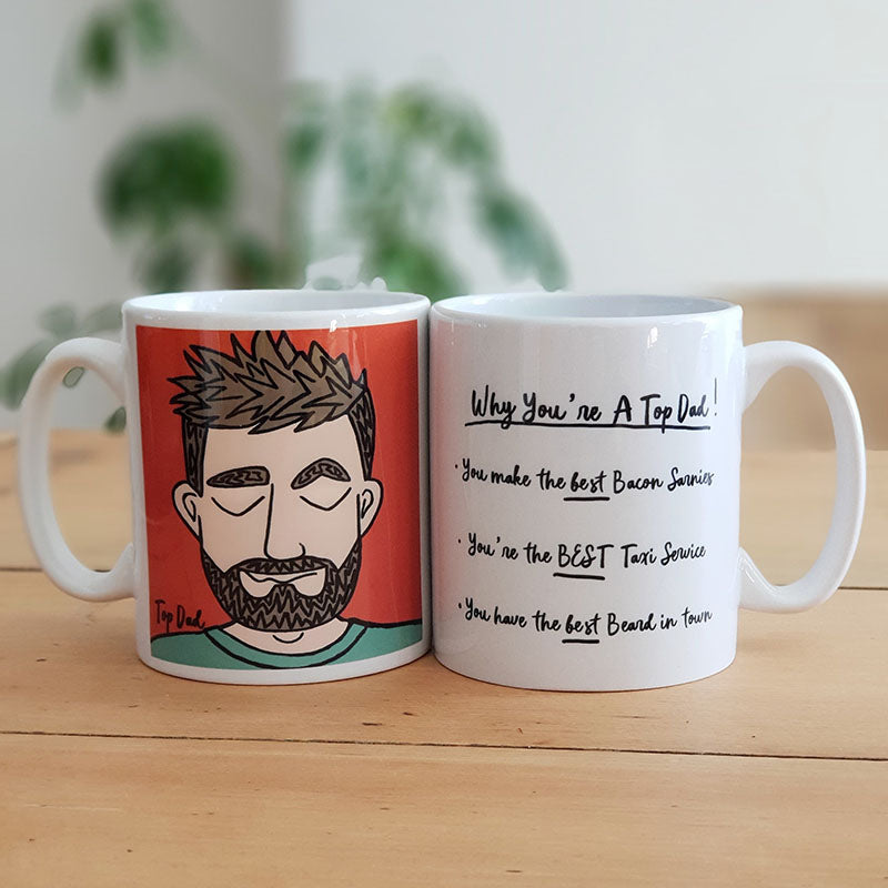 Personalised Top Dad Mug