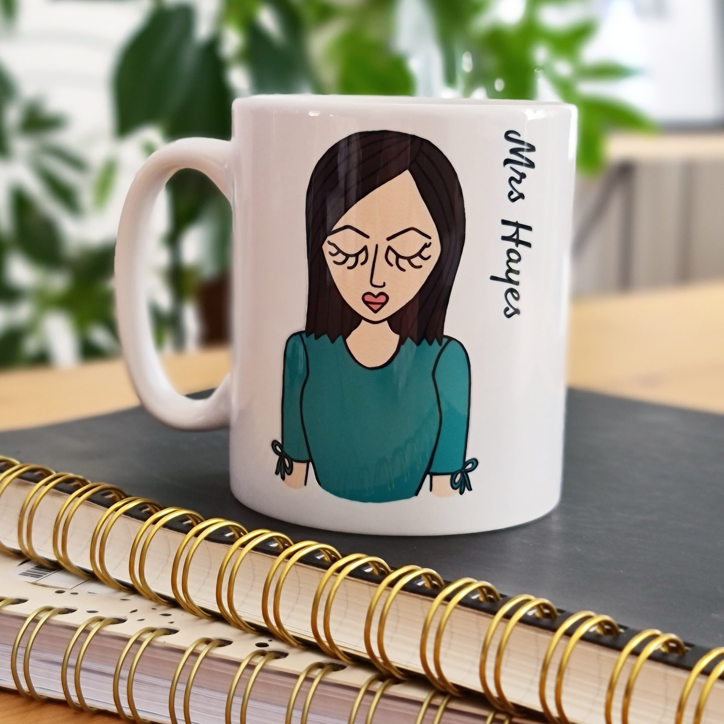 Create Your Own Teacher Mug