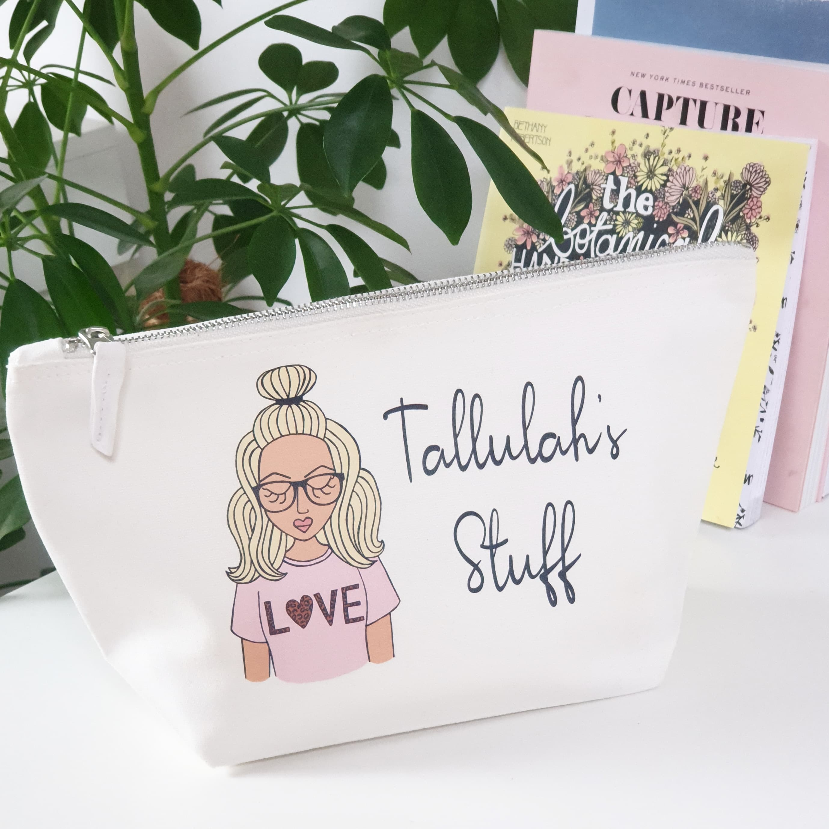 The Personalised Makeup Bag