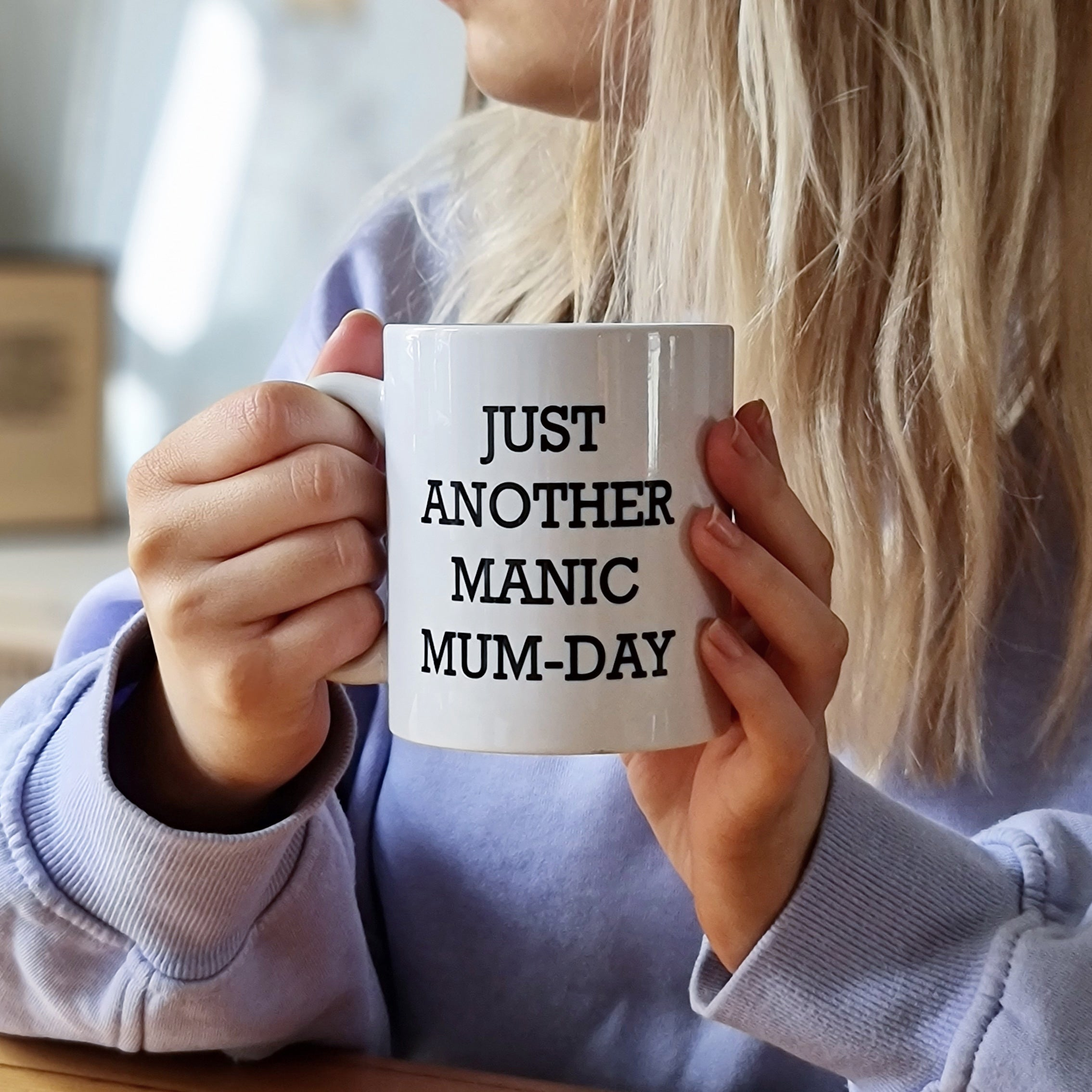 Personalised Manic Mum-Day Mug