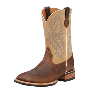 Ariat | Men's Quickdraw Tumbled Bark/Beige - Outback Traders Australia