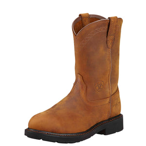 Ariat | Men's Sierra Steel Toe Aged Bark - Outback Traders Australia