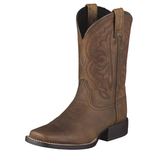 Ariat | Kids Quickdraw Distressed Brown