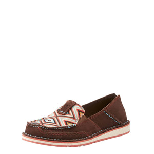 Ariat | Women's Cruiser Coffee Bean/Pastel Aztec