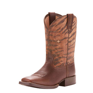 Ariat | Kids Quickdraw Pebbled Pinecone