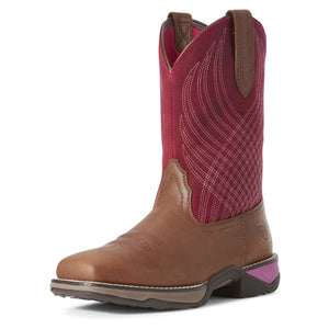 Ariat | Women's Anthem Matte Brown/Raspberry - Outback Traders Australia