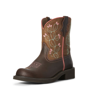 Ariat | Women's Fatbaby Heritage Cactus Dark Hazel - Outback Traders Australia