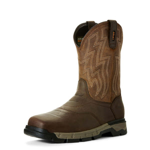 Ariat | Men's Rebar Flex Western Brown/Wicker - Outback Traders Australia