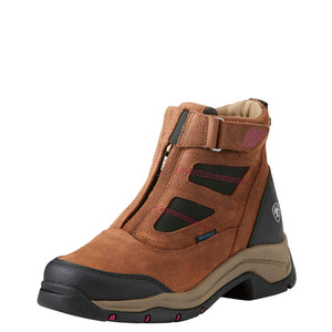 Ariat | Women's Terrain Pro Zip H2O Distressed Brown - Outback Traders Australia