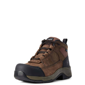 Ariat | Women's Telluride Work H20 Composite Toe Distressed Brown