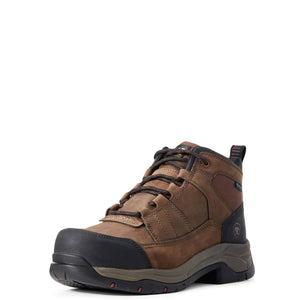 Ariat | Men's Telluride Work H20 Composite Toe Distressed Brown - Outback Traders Australia