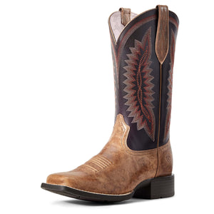 Ariat | Women's Quickdraw Legacy Almond Buff/Shadow Purple - Outback Traders Australia