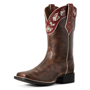 Ariat | Women's Round Up Monroe Brown Crunch - Outback Traders Australia