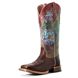 Ariat | Women's Fonda Sequoia/Floral Ceramic - Outback Traders Australia