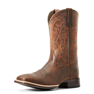 Ariat | Men's Ryden Ultra Distressed Brown/Rugged Bark - Outback Traders Australia