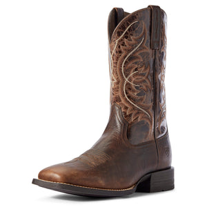 Ariat | Men's Holder Old Oak/Canteen Coffee - Outback Traders Australia
