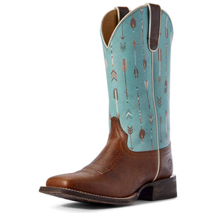 Ariat | Women's Circuit Savanna Chestnut Brown/Turquoise