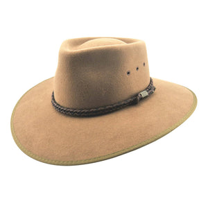 Statesman Hats | Economy Wool Felt | Countryman | Front | Outback Traders Australia