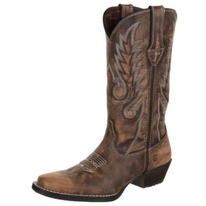 Durango® Women's Dream Catcher™ Western Boot Distressed Brown