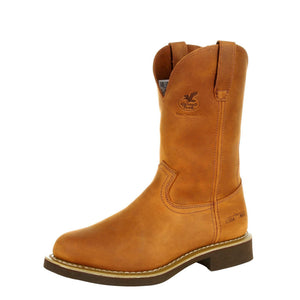 Georgia Men's Boot Carbo-Tec Wellington Prairie Chestnut