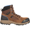 Georgia Men's Boot Blue Collar Composite Toe Waterproof Work Hiker Dark Brown