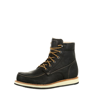 Georgia Men's Small Batch Wedge Boot Black