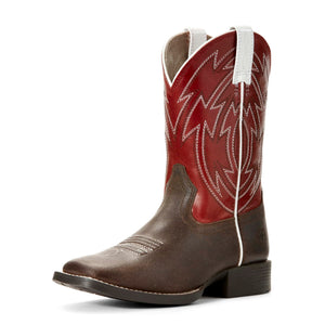 Ariat | Kid's Crossdraw Chili Red - Outback Traders Australia