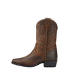 Ariat | Kid's Heritage Western Distressed Brown - Outback Traders Australia