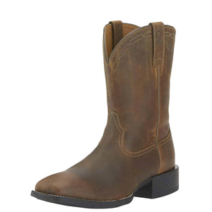 Ariat | Men's Heritage Roper Wide Square Toe Powder Brown