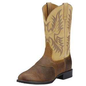 Ariat | Men's Heritage Stockman Tumbled Brown/Beige