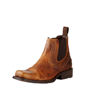 Ariat Boots | Men's Casual Elastic Sided Chelsea | Midtown Rambler | Front | Outback Traders Australia