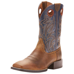 Ariat | Men's Sport Sidebet Solid Blue
