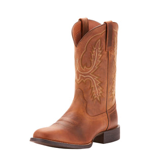 Ariat | Men's Sport Stratten Distressed Brown - Outback Traders Australia