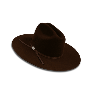 Outback King Kimberly Fur Felt Chocolate