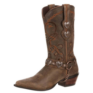 Durango® Women's Crush™ Heartbreaker Boot Dusk to Dawn Brown