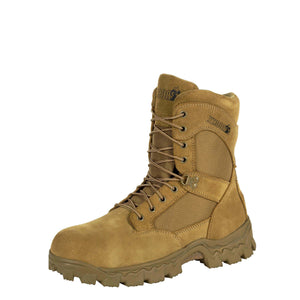 Rocky Men's Alpha Force Composite Toe Duty Boot Coyote Brown