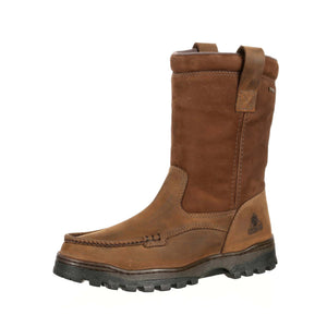Rocky Men's Outback GORE-TEX® Waterproof Wellington Boot Brown