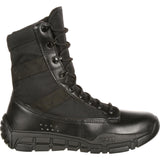 Rocky Unisex C4T - Military Inspired Public Service Boot Black