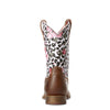 Ariat | Kid's Gringa Busted Brown/Leopard and Roses - Outback Traders Australia