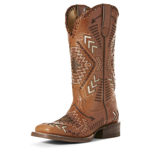 Ariat Boots | Women's Western Cowgirl | Gitana | Front | Outback Traders Australia