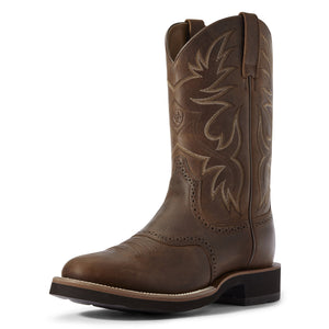 Ariat | Men's Heritage Crepe Distressed Tan - Outback Traders Australia